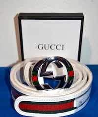 Gucci Belt (White) Toronto, M1R 5G9