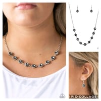 Starlight social silver necklace  Gaithersburg