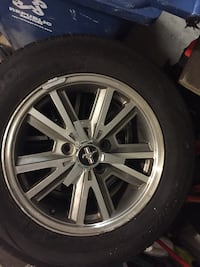 "16"" mustang  winter rims and tires Annandale, 22003"