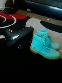 pair of teal-and-black Nike basketball shoes Villa Rica, 30180