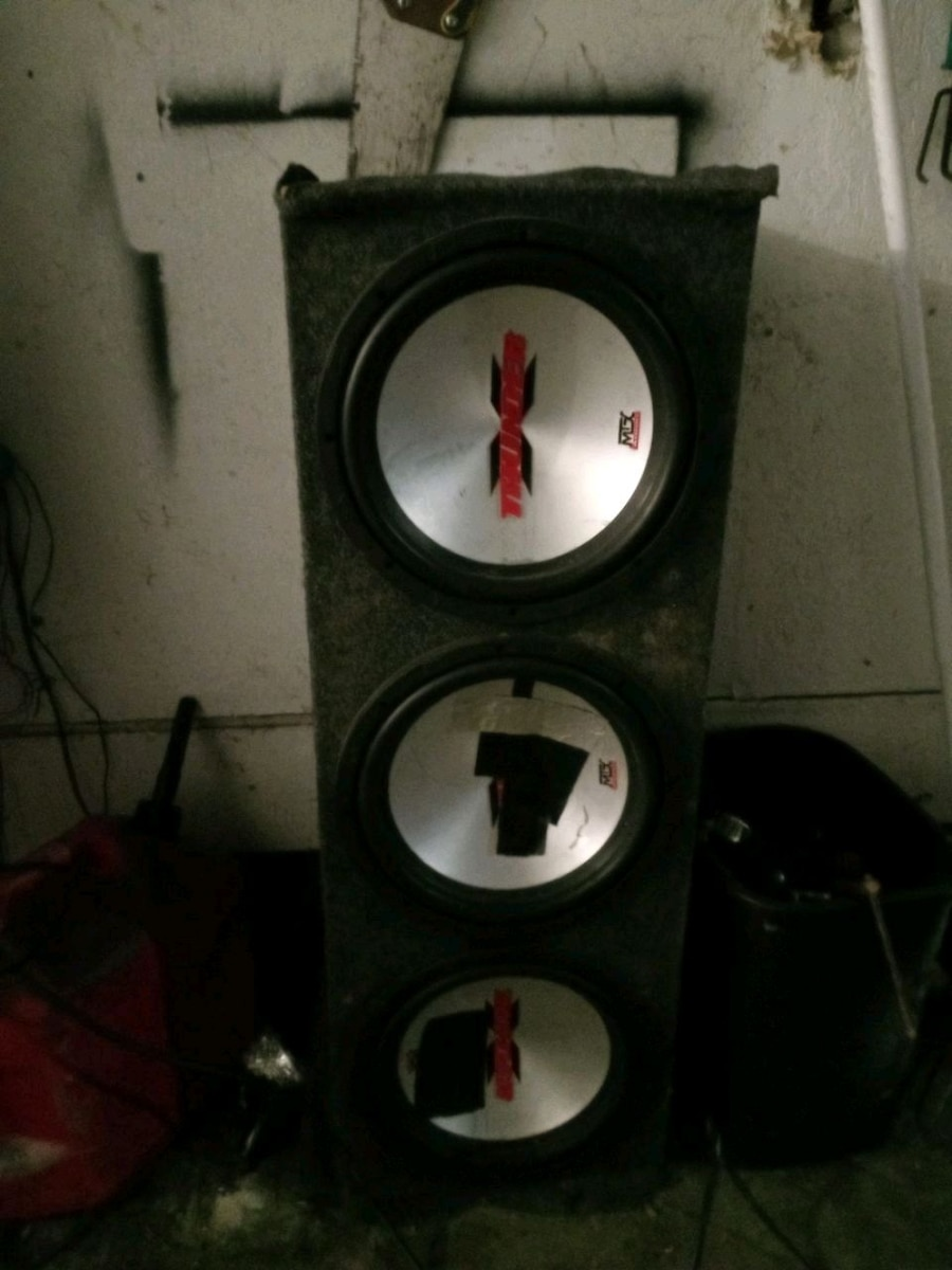 Photo 3 MTX 12 inch woofers