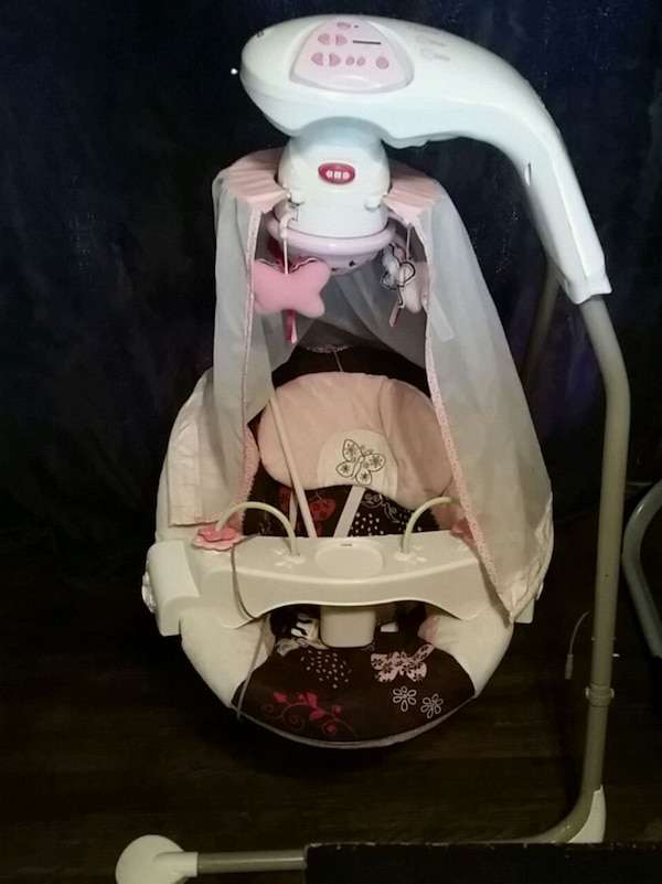 Fisher Price Butterfly N Cradle Swing