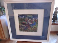 """ART: Beatty & Fehling Signed Framed Print """"Beastie Banquet"""" Catharpin"""