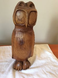Wood Carving - Owl    - Hand Carved - $26 OBO  TORONTO