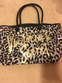 Black and brown leopard print tote bag Thomasville, 27360