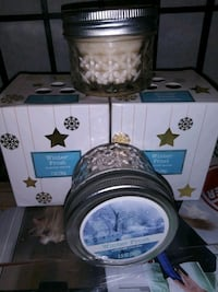 2 large & 2 small candles $5 for all 4 Virginia Beach, 23464