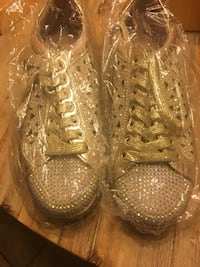 Lady Couture Gold Sneakers Dallas