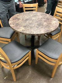Round cafe & break room tables (2 available) Winston-Salem, 27284