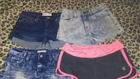 women's three assorted shorts Winnipeg, R3T 2G6
