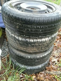 4 tires w rims 205 55r16 Berryville, 22611