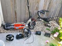Scooter/mini bike frame/mini bike motor w/gas tank Sacramento, 95829