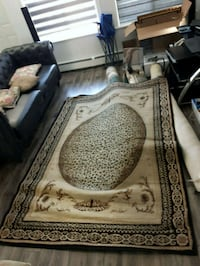 brown and black floral area rug Surrey, V3S
