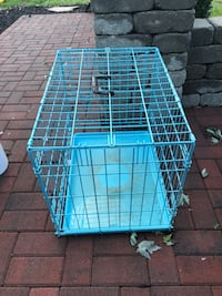white and blue metal pet cage Selinsgrove, 17870