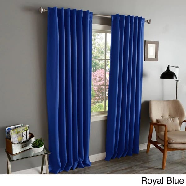Thermal Blackout Curtains = money saver for winter!