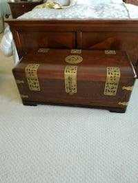 brown wooden chest box Fairfax, 22033