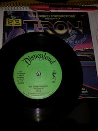 Tron record and story book