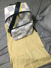 Louis Vuitton American Cup backpack in white Mississauga, L5V 2K6