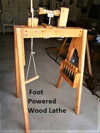 Foot Powered Wood Lathe