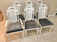 French Provincial Dining Chairs (6) Edmonton, T5Z 0L7