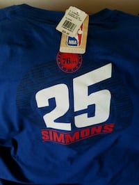 76ers Ben Simmons xl tshirt Camp Hill, 17011