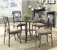 BRAND NEW 5 piece dining table  Irwindale, 91010