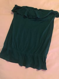 Hunter Green strapless top Lethbridge, T1H 4A4