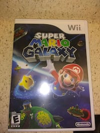 Nintendo Wii Super Mario Galaxy game case Reston, 20190