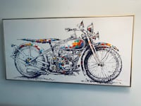 Motorcycle painting art Chevy Chase, 20815