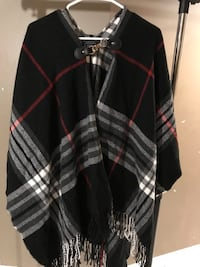 Women's checkered shawl by DKR & Co