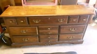 Good Looking Brown Wooden Dresser Woodbury, 37190