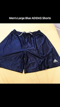 Adidas blue shorts  Bradford West Gwillimbury, L3Z