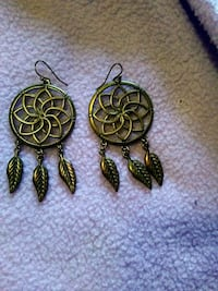 Earthbound dream catcher earrings Collinsville, 62234