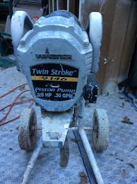 STOLEN.  Paint machine Wagner Piston pump with hose Redding, 96003