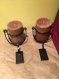 Candle holders with candles and hooks Silver Spring, 20901