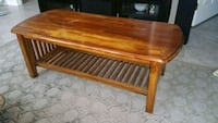 Coffee table made of solid wood Trumbull, 06611