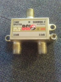 2 way cable splitter!! Toronto, M1K 5G6