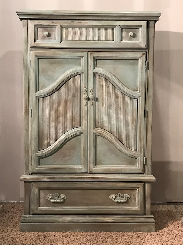 Shabby Chic Armoire used shabby chic armoire for sale in hempfield - letgo