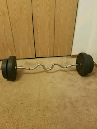 Curve weight rack Waukegan