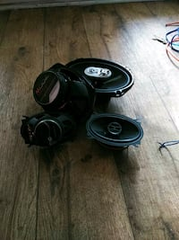 Power bass front and rear speakers Decatur, 30032