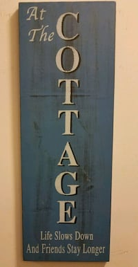 FRIEND DISTRESSED COTTAGE SIGN.. Lincolnton, 28092