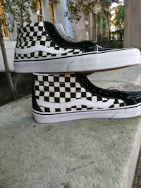 Vans size 11 checkered mid top Portland, 97209