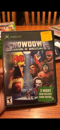 SHOWDOWN OF WRESTLING XBOX GAME WWE WWF HULK HOGAN Toronto, M1S 1V9