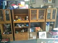 4 wooden Cabinets, best offer Hesperia, 92345