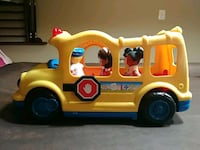 Little People School Bus with 4 people Ashburn, 20148