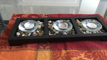 Table top candle holder