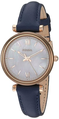 NEW - Fossil Women watch Navy Blue
