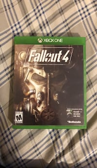 Xbox one fallout 4 game Thurmont, 21788