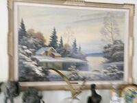 Original Oil Painting by P.Kujal 150 mi