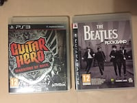 Guitar Hero: Warriors of Rock / Rock Band: Beatles PS3 oyun