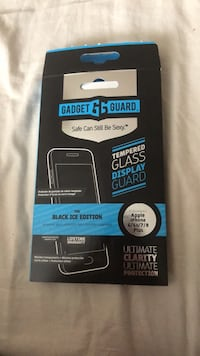 Black ice edition gadget guard Glass protector